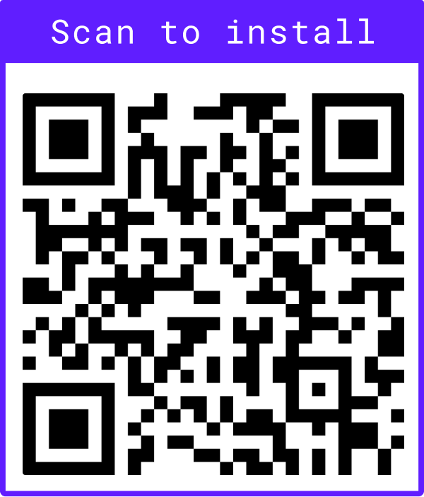 Stoic QR code